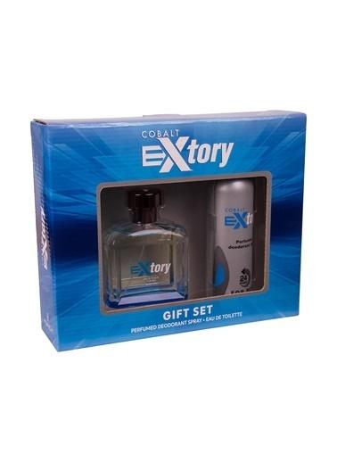 Extory Extory Cobalt EDT 100 ml Erkek Parfüm Seti Renksiz